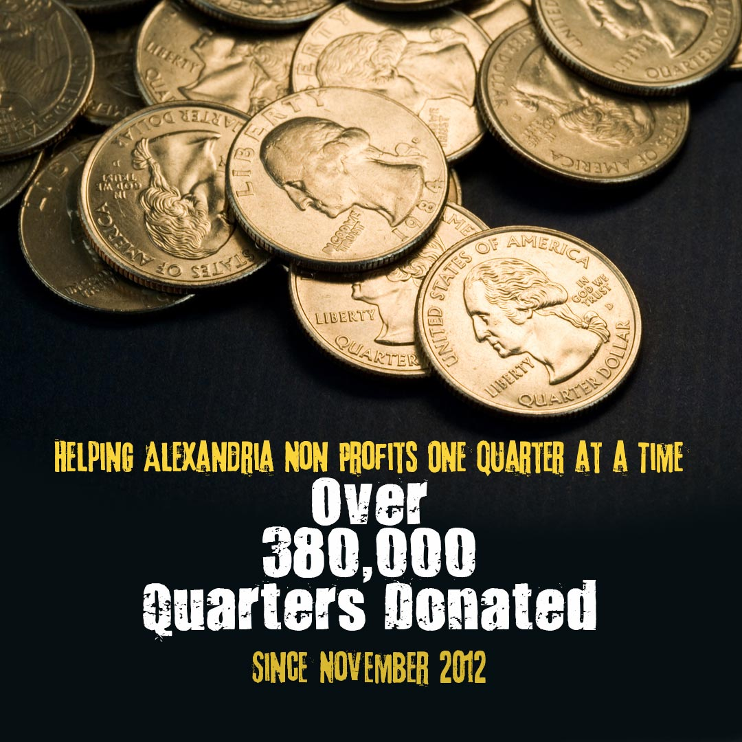 Over 380,000 Quarters Donated
